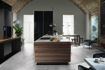 Bespoke Kitchens - Poggenpohl's 'Fourth Wall'   House & Garden