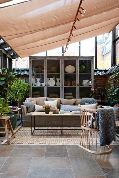 Ett Hem, Conservatory Ceiling Blind - Conservatory Designs & Ideas