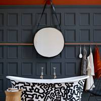 Graphic Bathtub