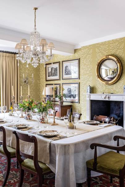 Dining Room - Traditional Hampshire Country House