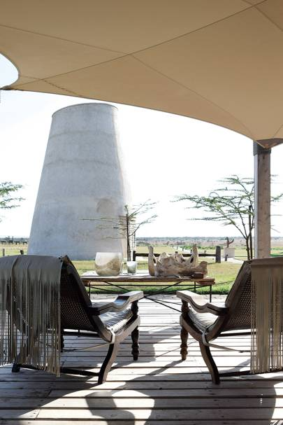 Stables Decking - Segera Retreat Kenya