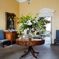 Antique Drum Table