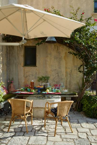 Outdoor Dining Area -  A House in the South of France