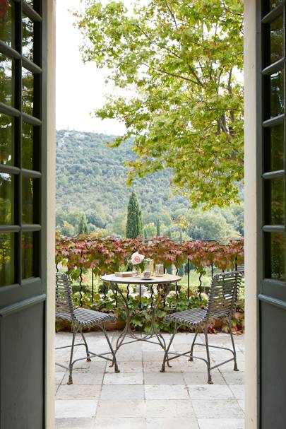 Domaine de la Baume: Balcony