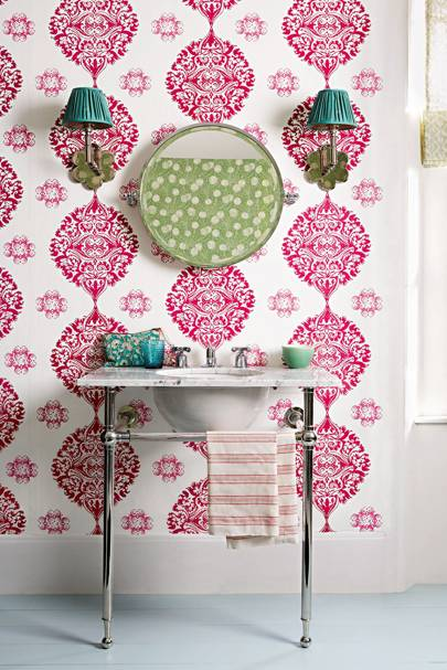 Bathroom Wallpaper – Print & Pattern Decor Inspiration