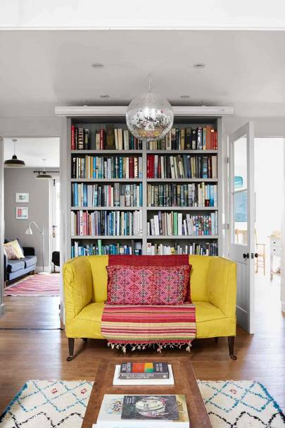 Living Room Bookcase - Somerset Chapel Conversion