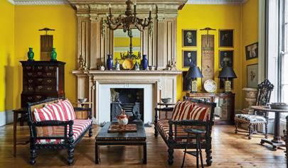 Fashion designer Gavin Waddell's Regency townhouse in Cheltenham