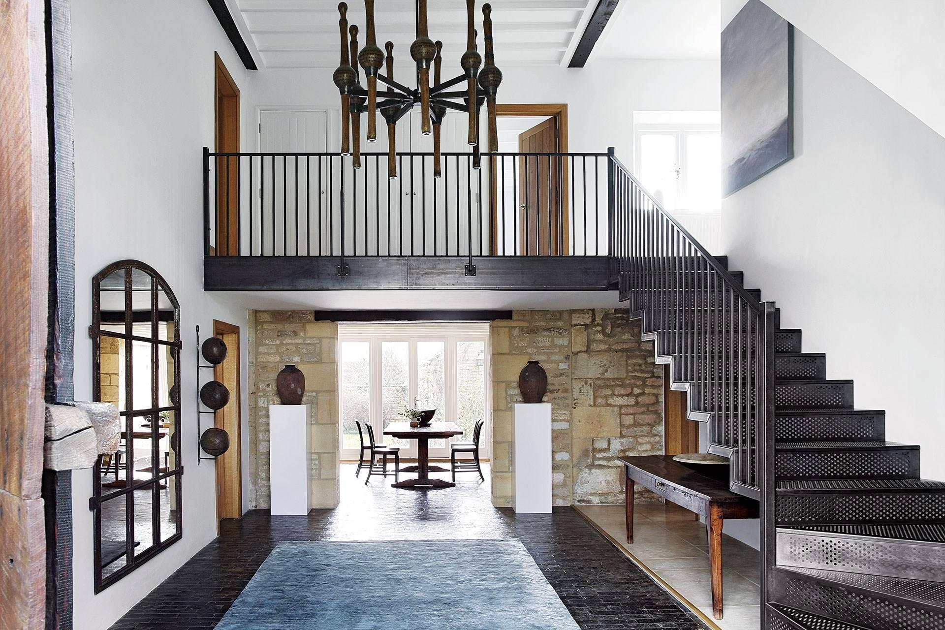 Barn Conversion With Modern Interiors House Garden
