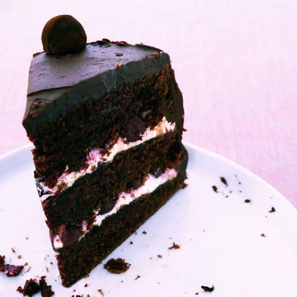 Chocolate Cherry Cake Recipe Baking Recipes House Garden