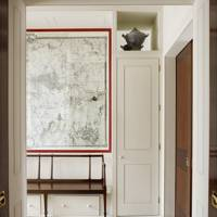 London Map Mural - Hallway Ideas – Furniture, Lighting & Decorating