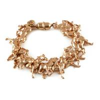 Rose Gold Horses
