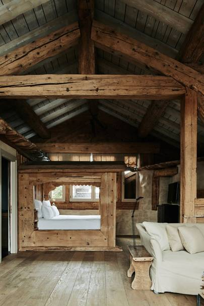 Chalet Bedroom - Belgian Family Home & Alps Chalet
