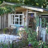 Straw Bale Lodge Exterior