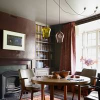 Richly Coloured Dining Room