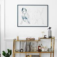 Drinks Table - Scandinavian Home of Pernille Teisbaek