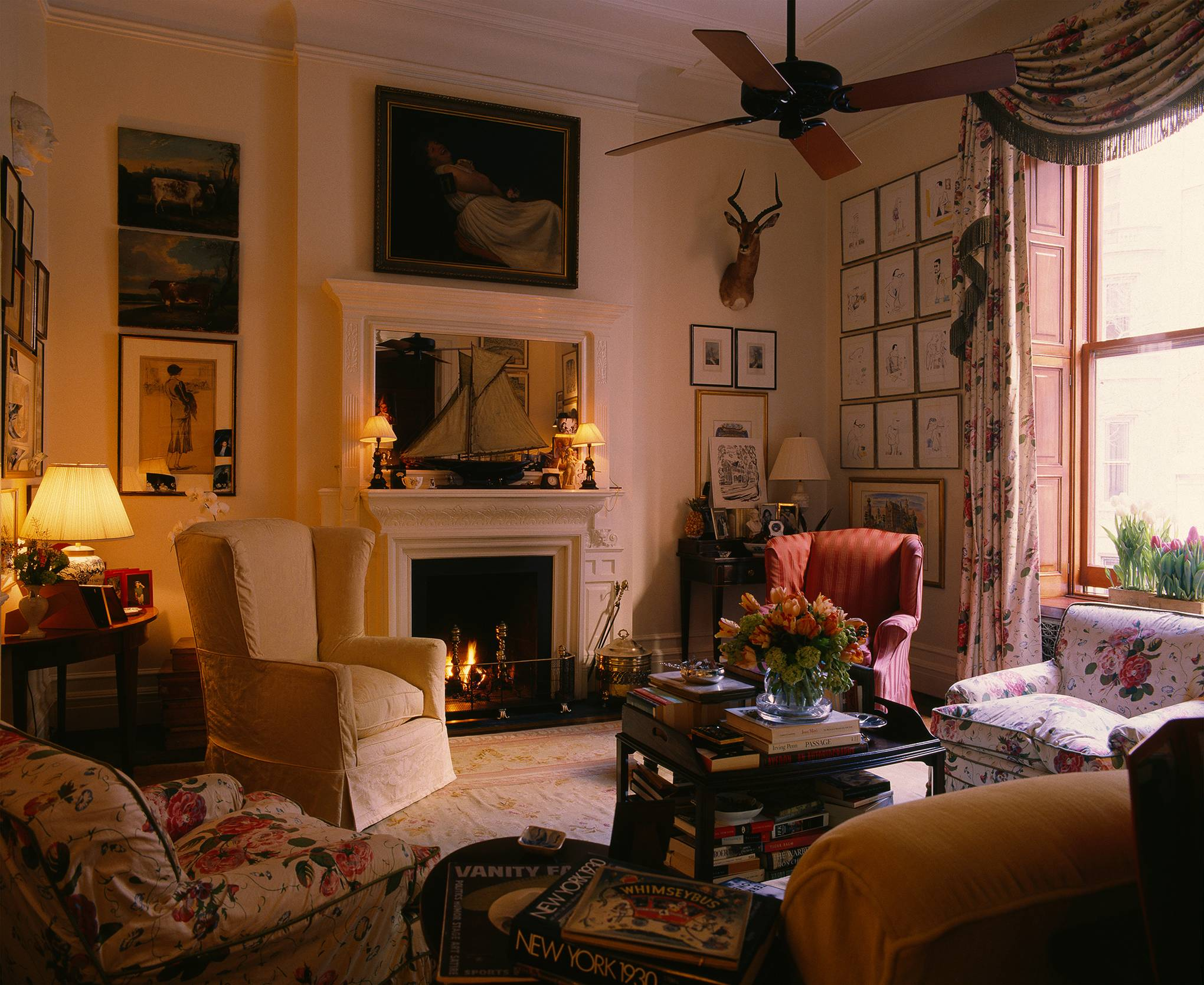 From the archive: Graydon Carter's apartment in the Dakota