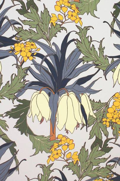 'Friti' wallpaper by Abigail Borg