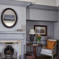 Drawing Room Fireplace - Lamb's House in Leith