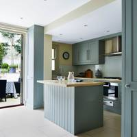 Grey-Blue Kitchen