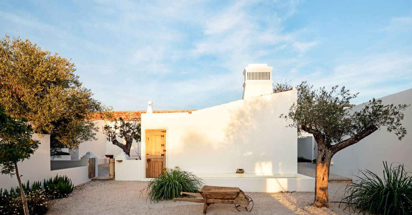 This pretty hotel in Portugal's Algarve is high on our summer wish list