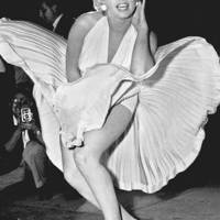 Marilyn Monroe filming The Seven Year Itch in Manhattan