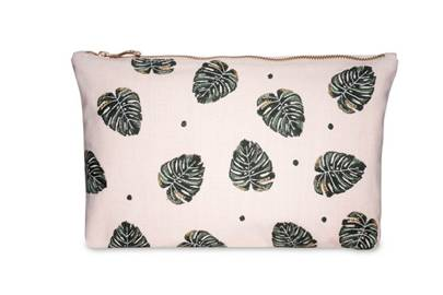 July 31: Elizabeth Scarlett Jungle Leaf Rose Pouch, £20