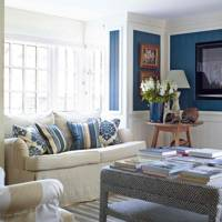 Painted Panel Living Room