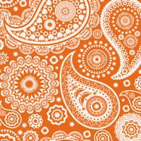 Paisley Crescent Wallpaper