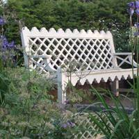 Andrew Crace Indian Lattice Bench