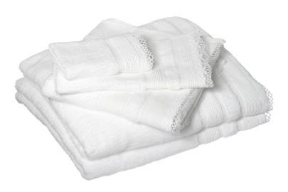 December 19: Cologne & Cotton Lace Edge White Towel Set, £68