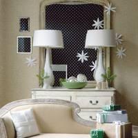 Wall Mounted Paper Stars