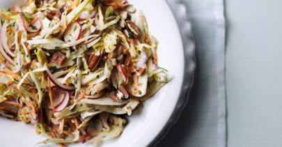 Coleslaw recipe with fennel, radishes and cabbage