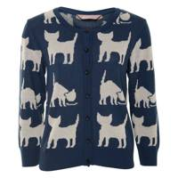 Navy Cat Cardigan