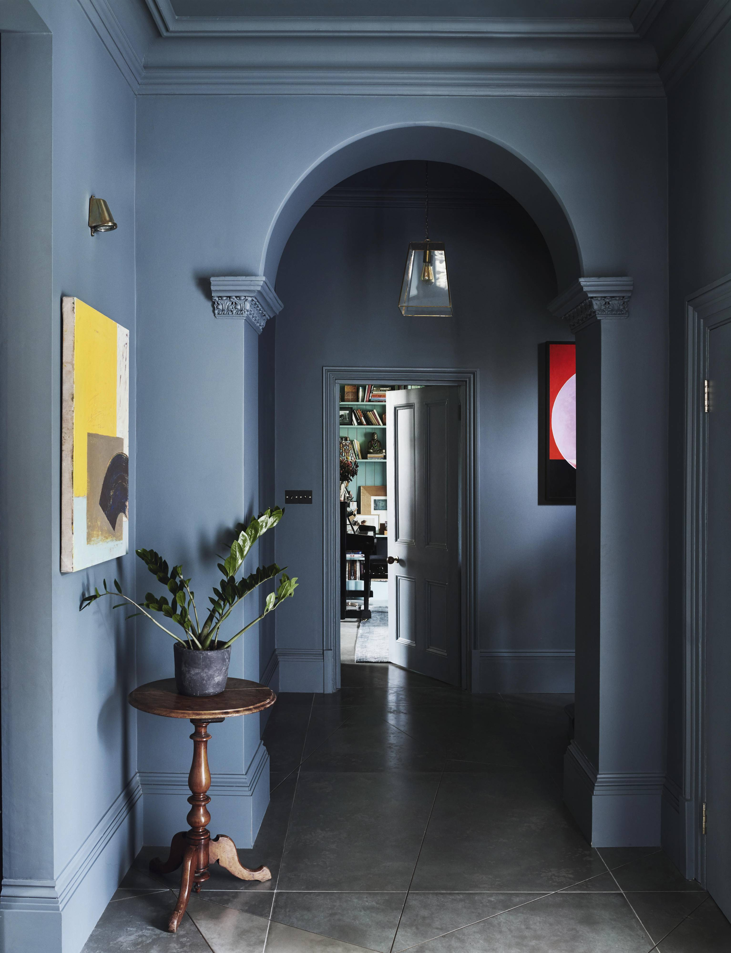 Time To Rethink Coloured Ceilings And Woodwork House Garden