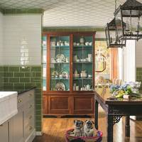 Kitchen - Madcap Cottage Bright Pattern House