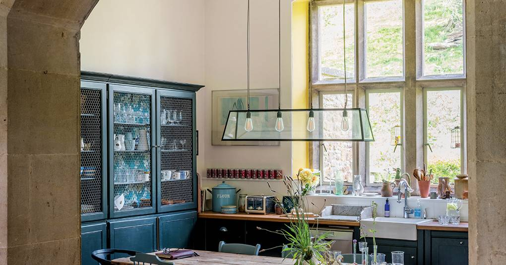 Farrow & Ball colour curator Joa Studholme's house in Somerset