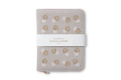 July 4: Elizabeth Scarlett Embroidered Ananas Cloud Zip Journal, £30