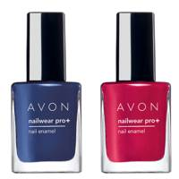 5 October: Avon Nailwear Pro+ in Inky Blue and Red Reveal, £12