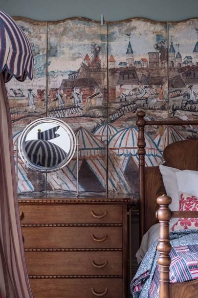Bespoke Tented Cupboard