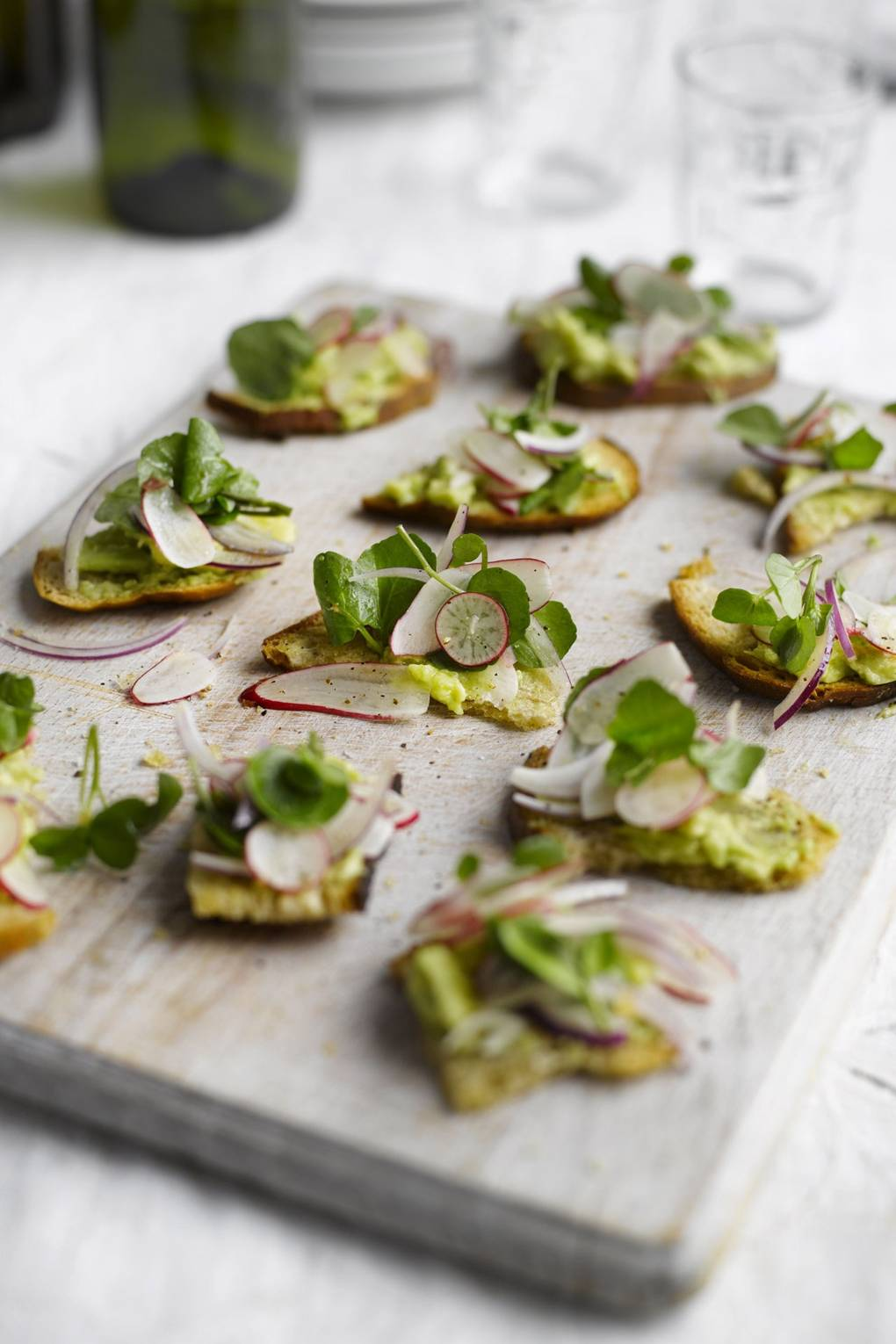 Toasted Sourdough With Avocado Radish And Watercress Recipe House