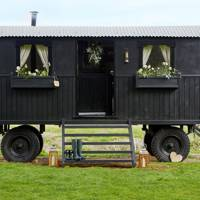 Shepherd's Hut in Oxfordshire