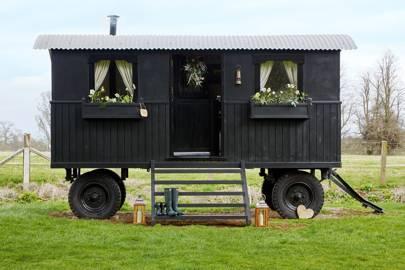 Shepherd's Hut in Oxfordshire