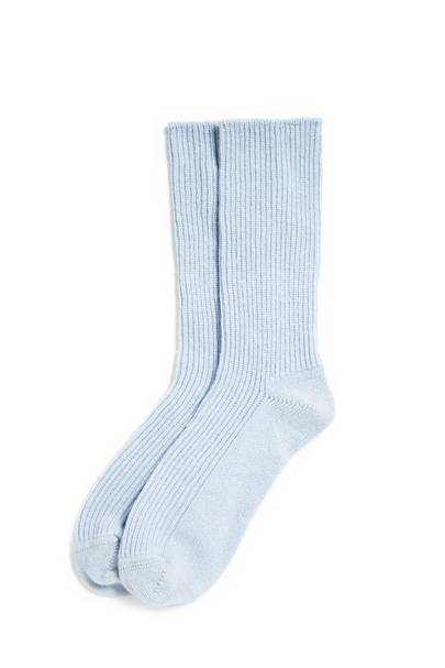January 3: The White Company Cashmere Socks in Ice Blue, £35