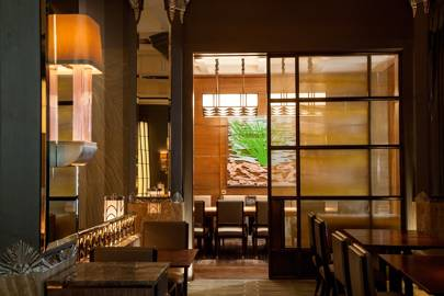 Spotted: A Shade Above at Fera restaurant, Claridges
