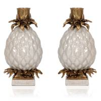 Ananas pineapple candle holders