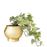 Gold Metal Plant Pot, £26