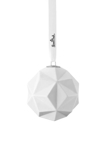 Solitaire Porcelain Bauble