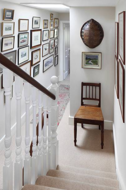 Landing - Traditional Victorian Town House