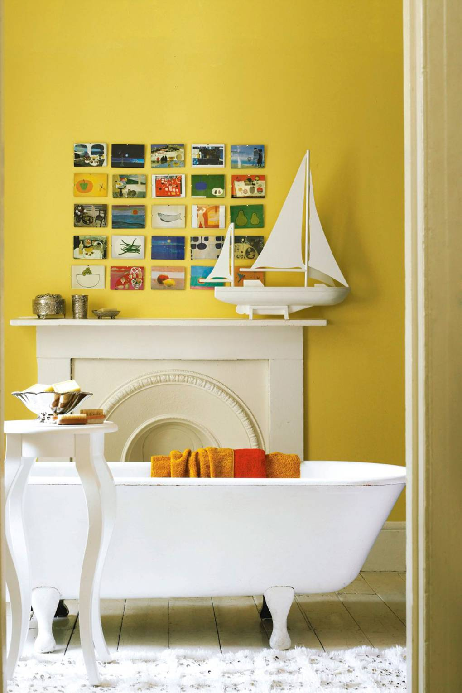Feature Wall Ideas - Bedroom & Living Room Walls | House & Garden