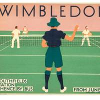 Wimbledon Poster, by Harry Perry, 1931